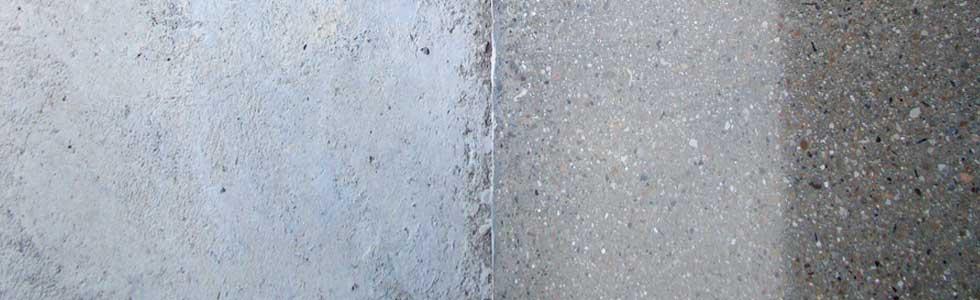 Pulir abrillantar suelo hormigón