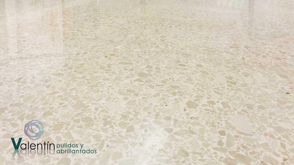 Terrazo for Hormigon pulido blanco