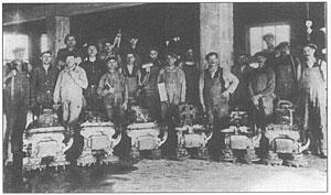 Pulidores de terrazo 1924